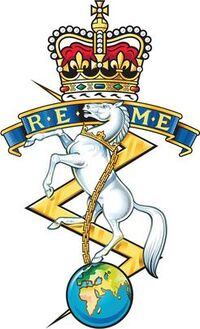 The Corps of Royal and Electrical and Mechanical Engineers Cap Badge