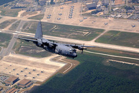 AC-130U over Hurlburt Field