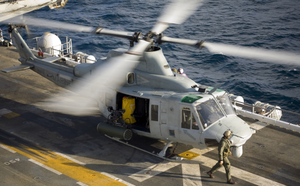 UH-1Y on USS Boxer