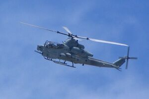 AH-1Z undergoing testing at NAS Patuxent River