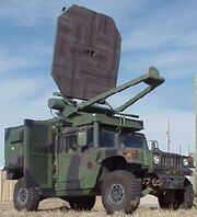 Active Denial System Humvee
