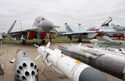 MiG-29K on the MAKS-2009 (02)