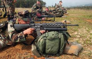 M16A2 M203