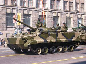 2008 Moscow May Parade Rehearsal - BMP-3