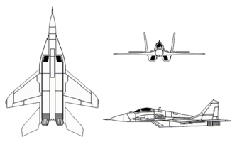 MiG-29 FULCRUM (MIKOYAN-GUREVICH)