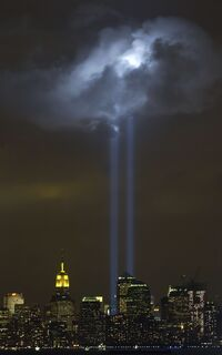 Tribute in Light Memorial September 9 2004