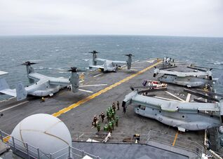 VMM-162 aboard USS Nassau 2009