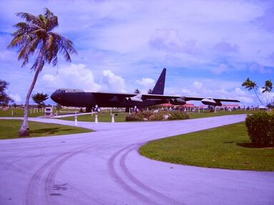 Andersen AFB B52 display