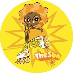 The Sun by fyre flye