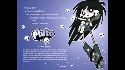 【HD】Milky Way and the Galaxy Girls Pluto -- Original Music