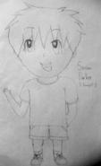 El Samson Drawing