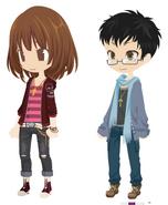Toshio and Mayu
