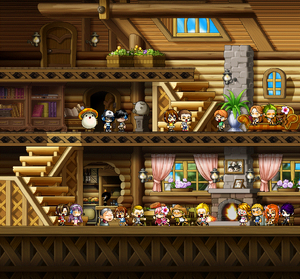 Random Lodge Scene