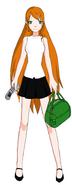 Fern School Girl