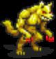 Gold Werewolf