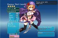 Phantom Thief Cuterie Evolved in LV50