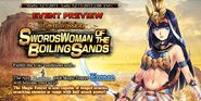 Swordswoman of the Boiling Sands Preview