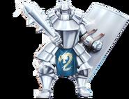 Platinum Armor Render