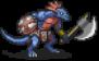 Lizard Axe Thrower