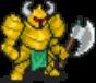Living Axe Armor (Gold)