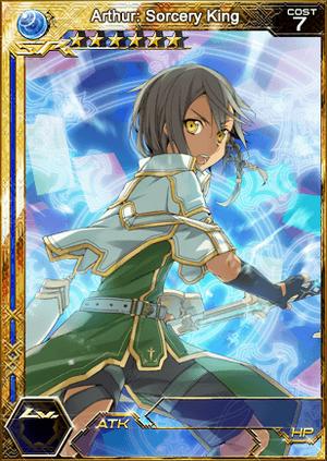 Arthur - Sorcery King (SR+) s1