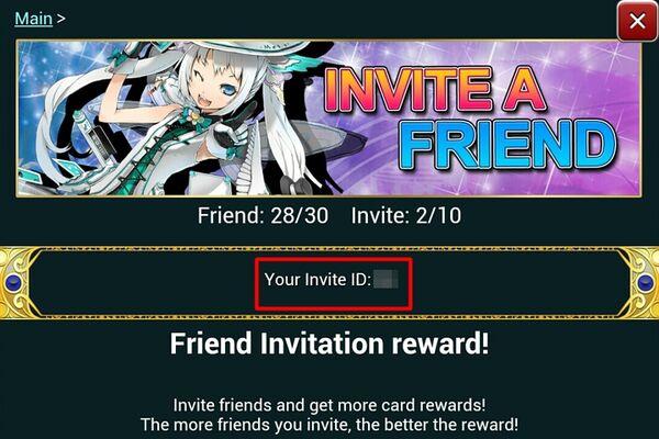 Invite id