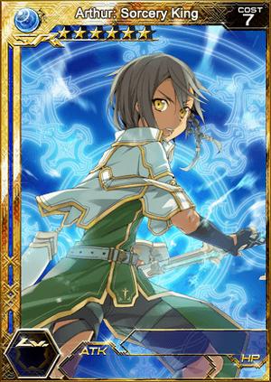 Arthur - Sorcery King (SR+) 1