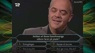 Hvem vil være millionær - Søren Brøndum Laursen wins the million
