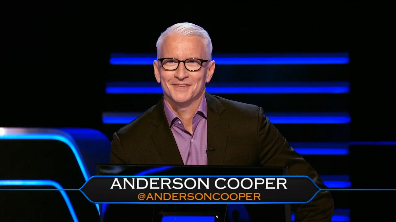 Anderson Cooper | Who Wants To Be A Millionaire Wiki | Fandom