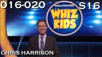 """Millionaire"" Season 16 Week 04 35 Episode 16-20 ""WHIZ KIDS WEEK"" (02 10 17 - 06 10 17)"