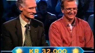 """Uredigeret """"Hvem vil være Millionær, sendt okt. 2005"""""""