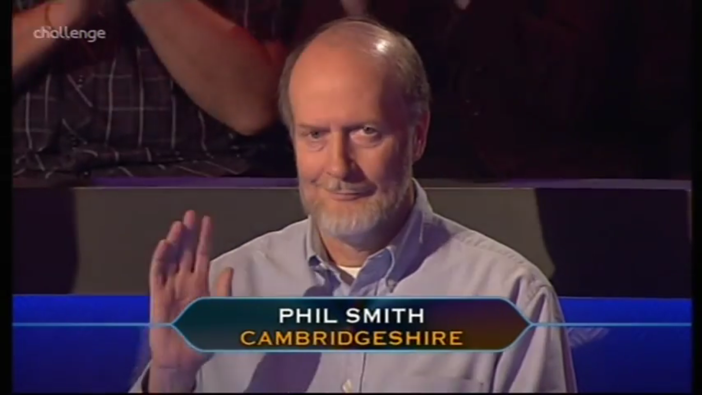 Phil Smith Who Wants To Be A Millionaire Wiki