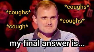 Charles Ingram Cheating Quiz ALL COUGHS PROOF Who Wants to Be a Millionaire Cheater