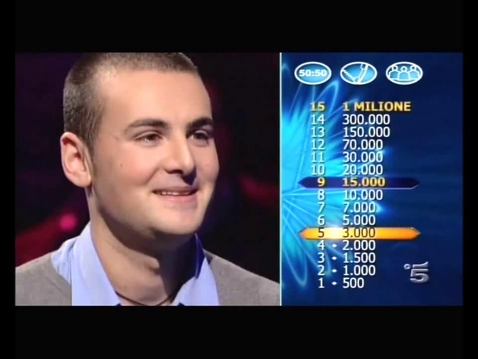 Dany Verso il Milione 2010