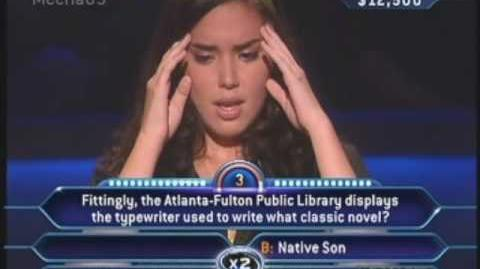 """""""You only have 3 seconds left.."""" - Who Wants to be a Millionaire -Old Format-"""