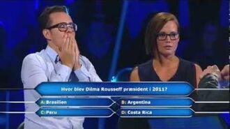 Hvem vil være millionær- Hvem vil vaere milionaer dating Malene og Hassan