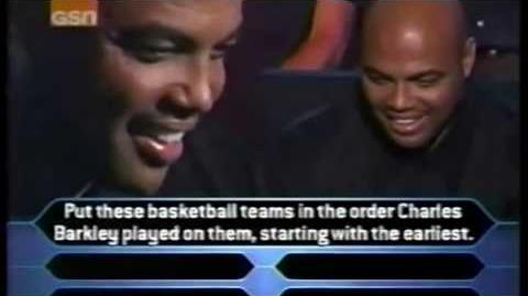 Charles Barkley on Who Wants to be a Millionaire - Sports Superstars edition (Full Run)