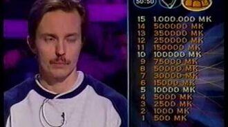Haluatko miljonääriksi? -jakso (19.12.1999)