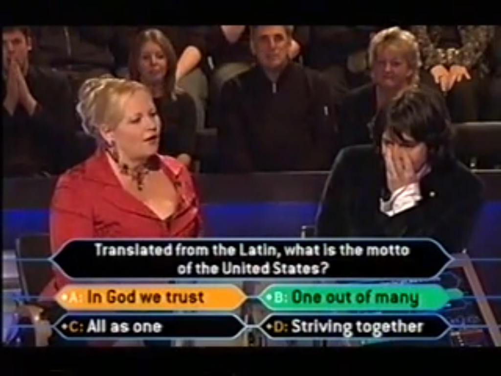 Laurence And Jackie Llewellyn Bowen Who Wants To Be A Millionaire
