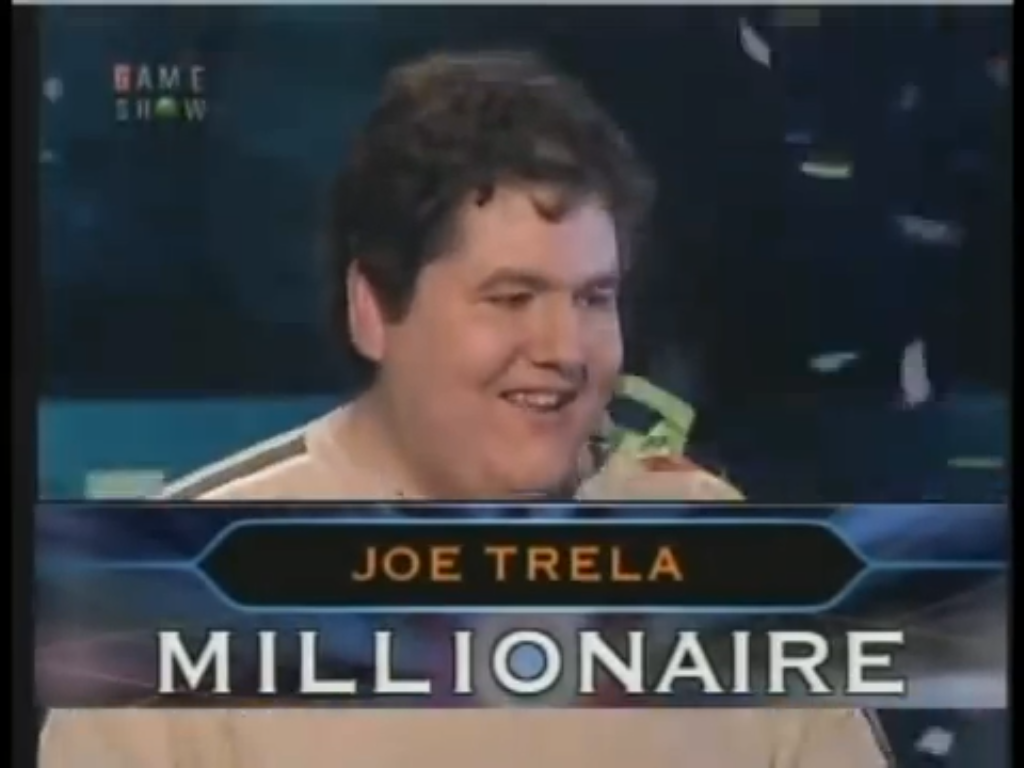 Millionaire game show winners prizes