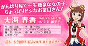 Haruka Amami profile