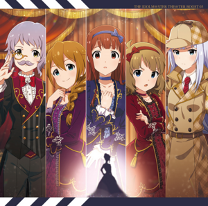 THE IDOLM@STER THE@TER BOOST 03 Cover