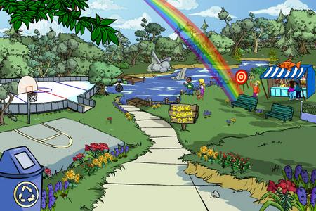 Peabody Park Rainbow