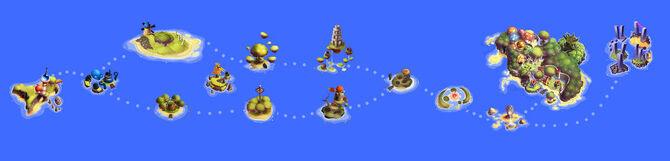 Summer Tide Saga Map