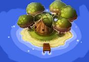 Rhubarb Island Map