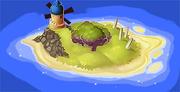 Nikonos Island Map