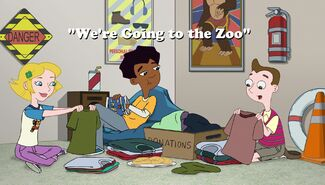We're Going to the Zoo title card