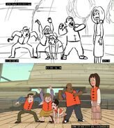 Some Like it Yacht - storyboard comparison 4