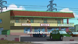School Dance title card
