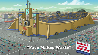 Pace Makes Waste title card